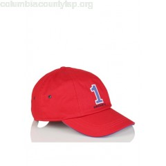 New collection ADJUSTABLE COTTON CAP WITH PATCH RED HACKETT MEN UAFmbqg2