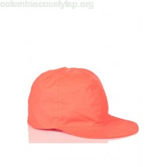 New collection ADJUSTABLE PACKABLE NYLON CAP RED FLUO K.WAY MEN 8mYgUSlW