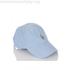 New collection COTTON CAP WITH EMBROIDERED LOGO BSR BLUE POLO RALPH LAUREN MEN Zb5XVI3g