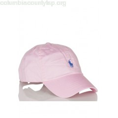 New collection COTTON CAP WITH EMBROIDERED LOGO CARMEL PINK POLO RALPH LAUREN MEN Bc1FhhSl