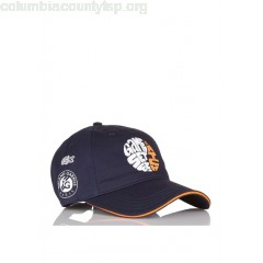 New collection EMBROIDERED COTTON BASEBALL CAP MARINE/ABRICOT-BLANC-ABRICOT LACOSTE MEN TLM8z1YS