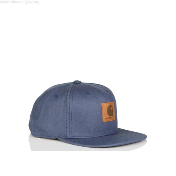 0c1fe649191 New collection FLAT VISOR CAP IN COTTON 95600-STONE BLUE CARHARTT WIP MEN  NsbhkXKm