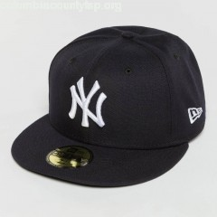 Fitted Cap Acperf NY Yankees 59Fifty in blue J9pk6v5n