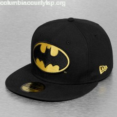 Fitted Cap Character Basic Batman 59Fifty in black skDkUAB6