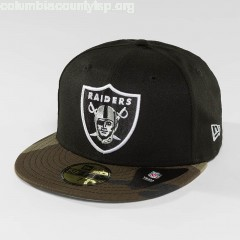 Fitted Cap Contrast Camo Oakland Raiders 59Fifty in camouflage Lc8CXuM5
