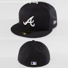 Fitted Cap League Essential Atlanta Braves 59Fifty in blue 2OOmua21