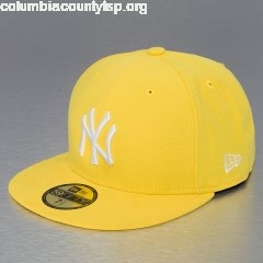 Fitted Cap MLB Basic NY Yankees 59Fifty in yellow 6yCqp7T7