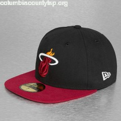 Fitted Cap NBA Basic Miami Heat 59Fifty in black ywRDx8p3