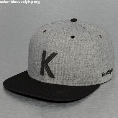 Snapback Cap ABC-K Wool in grey r6df2zzN