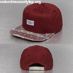 Snapback Cap Aztec And Structure in red Rsnx8wt5