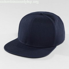 Snapback Cap Basic in blue psgWXcXO