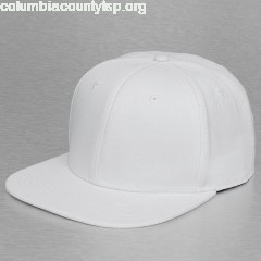 Snapback Cap Basic in white X4arJHun
