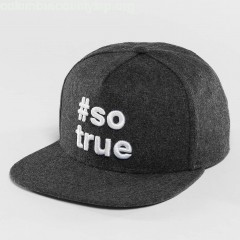 Snapback Cap Being True in grey gsAyt9LX