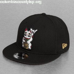 Snapback Cap Cat 9Fifty in black C3wutW2M