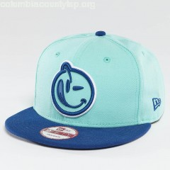 Snapback Cap Classic Outline in turquoise UqQao7TI
