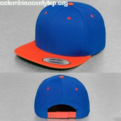 Snapback Cap Classic Two Tone in blue p9me1anf