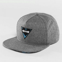 Snapback Cap Eyecatcher in grey STiC332B