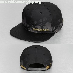 Snapback Cap Flower in black FdxZ3BaJ