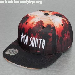 Snapback Cap Go South in black qH53hGlZ