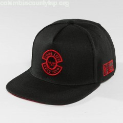 Snapback Cap International in black srkh4zcu