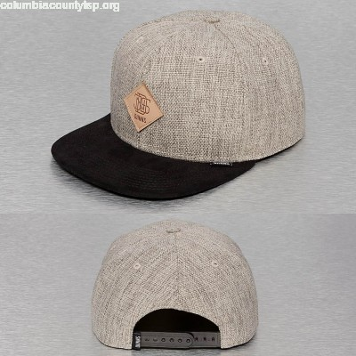 Snapback Cap Rhomb 6 Panel in grey vji0gikh
