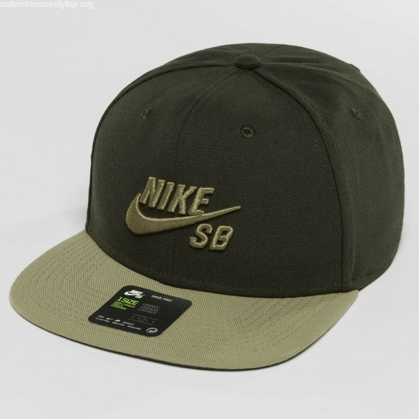 pick up official store professional sale Snapback Cap SB Icon in olive 2BySL2e2