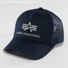 Trucker Cap Basic in blue tdsKdEAy