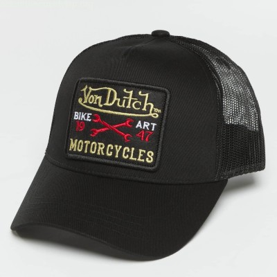 Trucker Cap Bike Art in black Fl6GzYvj