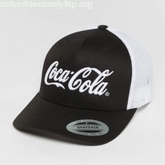 Trucker Cap Coca Cola Logo in black k5VxDVFZ