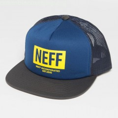 Trucker Cap Corpo in blue soHSpRcx