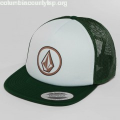 Trucker Cap Frontal Cheese in green VAz475Ly