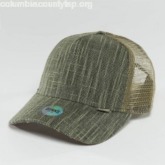 Trucker Cap Indoalot in olive D7QVHq2N