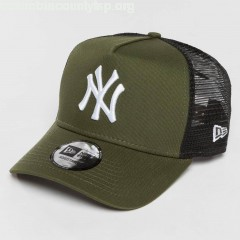 Trucker Cap League Essential NY Yankees in green cs9fOLAS