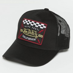 Trucker Cap Live Fast in black OU75DOMj