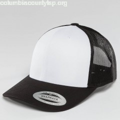 Trucker Cap Retro Colored Front in black rzZcvZY6