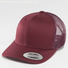 Trucker Cap Retro in red dtcbBBzY
