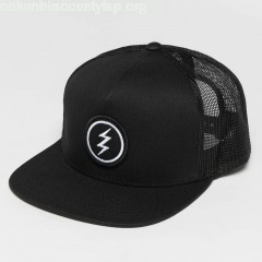 Trucker Cap Volt Patch in black rI426H0Q