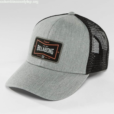 Trucker Cap Walled in grey EuoWLltr