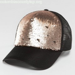 Women Trucker Cap Glam in black ilED5z8g