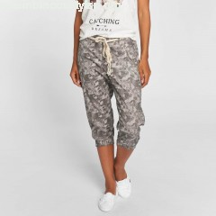 Women Short Capri in grey WxlZgB4X