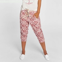 Women Short Capri in rose ij0pu6F0