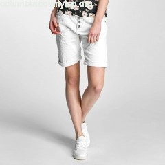 Women Short Dob in white jgI8ECS4