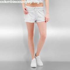 Women Short Space Dye in white VjgQh1uk