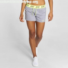 Women Short Training in grey DIhth09s